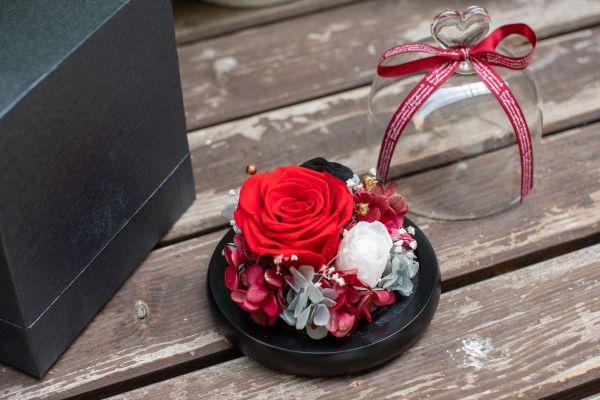 Aranjament trandafir criogenat 3 giftbox