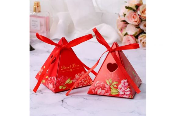 Candy box s/10 sweet love red