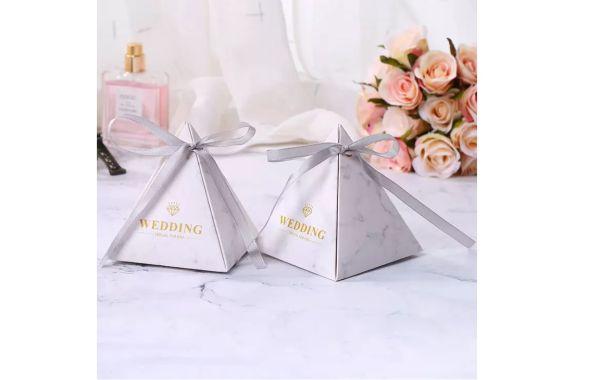 Candy box s/10 wedding white